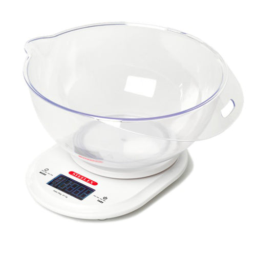 Steelex Add & Weigh Electronic Kitchen Scales