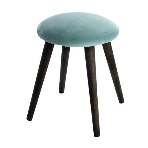 NEW YORK FOOT STOOL, STONE BLUE
