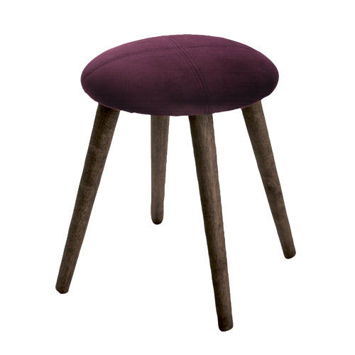 NEW YORK FOOT STOOL, PLUM