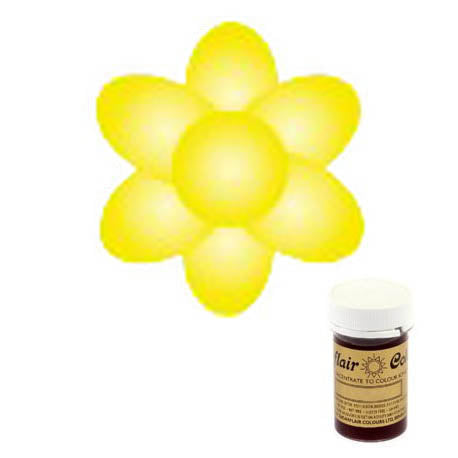 Sugarflair Paste Colour, 25g, Pastel Daffodil