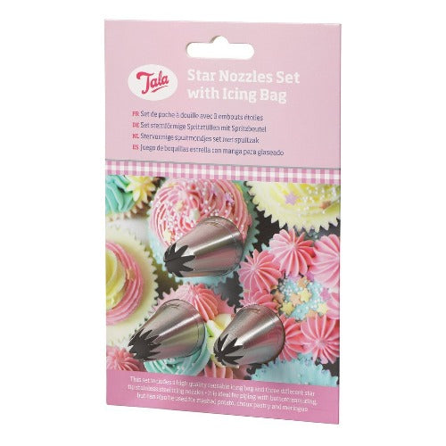 TALA STAR NOZZLES WITH ICING BAG