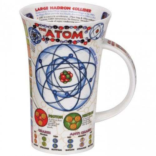 Dunoon Glencoe Fine Bone China Mug, The Atom