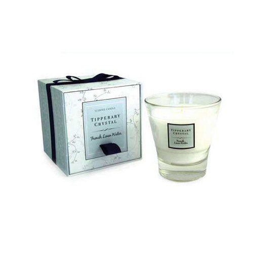 Tipperary Crystal Wax Filled Tumbler, French Linen Water