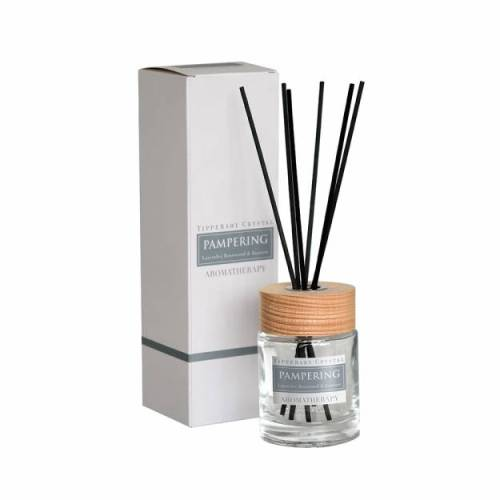 Tipperary Crystal Aromatherapy Diffuser, Pampering, Lavender, Rosewood & Jasmine