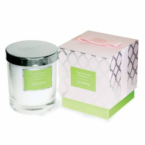 Tipperary Crystal Luxury Candle, Gooseberry