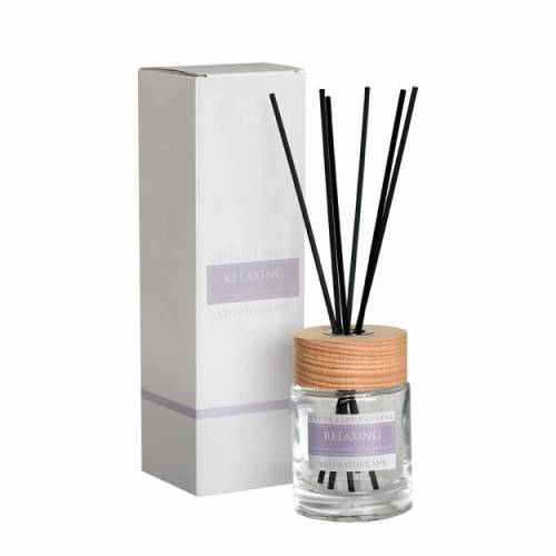 Tipperary Crystal Aromatherapy Diffuser,  Relaxing, Lavender, Jasmine & Sweet Basil