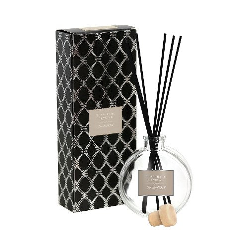 Tipperary Crystal Luxury Diffuser, Smoked Oak