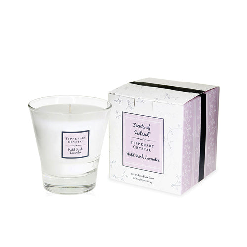 Tipperary Crystal Wax Filled Tumbler, Wild Irish Lavender