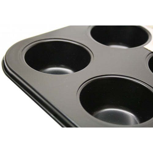 Steelex Non-Stick 12 Cup Cupcake/Muffin Tin