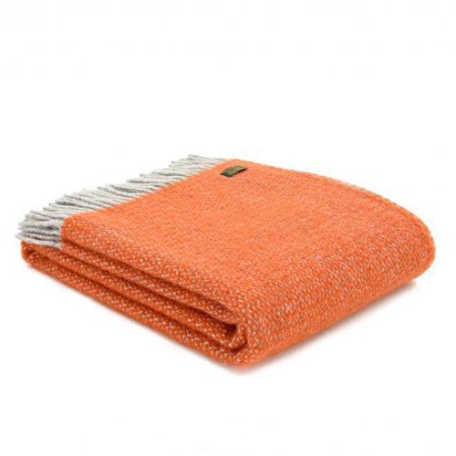 Tweedmill Lifestyle Illusion Throw, Pumpkin