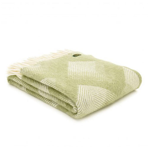 Tweedmill Lifestyle Prism Throw, Fern