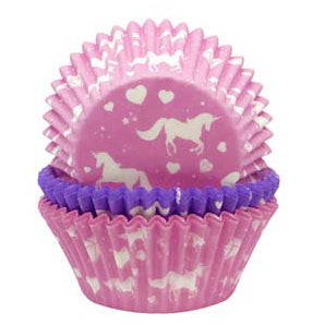 Cupcake Cases, Pack of 75, Unicorn
