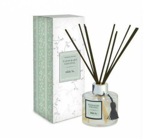 Tipperary Crystal Diffuser Set, White Tea