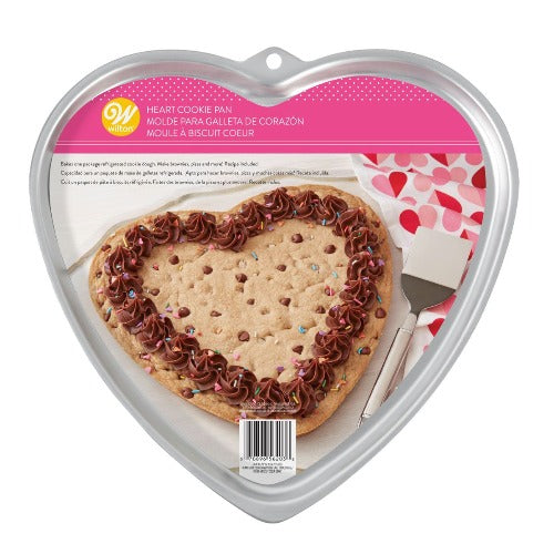 WILTON GIANT HEART COOKIE PAN