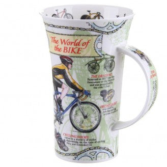 Dunoon Glencoe Fine Bone China Mug, World Of The Bike