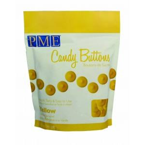 PME Candy Buttons, Yellow Vanilla Flavoured