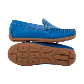 Millwoods leather kids shoes grip covered toes