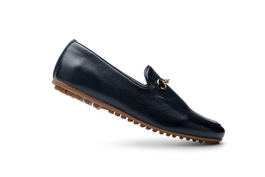 Women's Navy Loafer