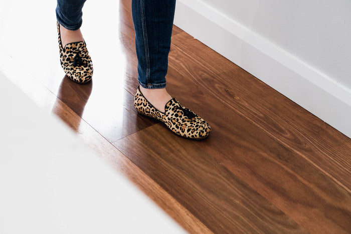 Women's Leopard Loafer