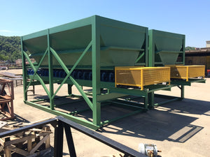 "8'x16' Hopper with 30"" Belt Feeder"