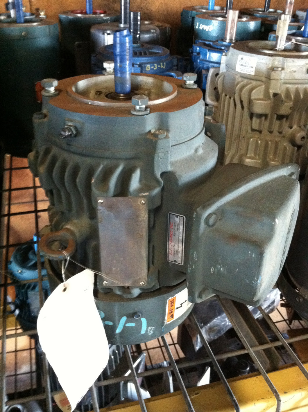 Siemens, 1.5 HP, Electric Motor, SD10