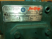 Grove Flexaline 60:1 Gear Reducer B1175-3