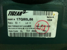 Dodge Tigear2 50:1 Motor Reducer 17Q50L56