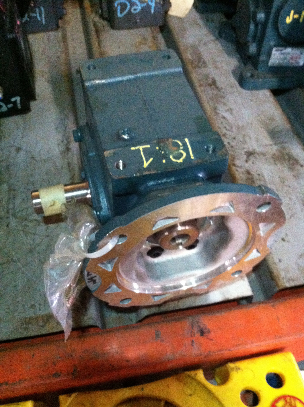 Dodge Tigear 2, 18:1, Motor Reducer, Gearbox