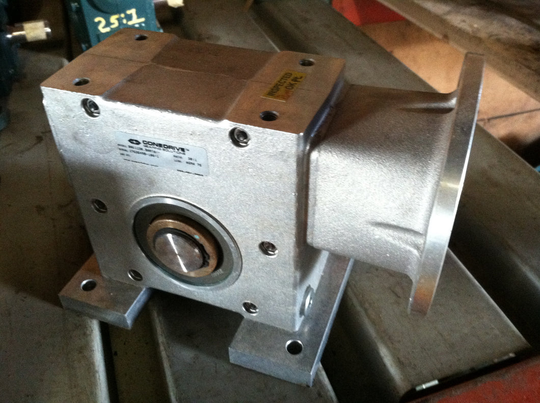 Conedrive, 30:1, Stainless Steel, Motor Reducer, Gearbox
