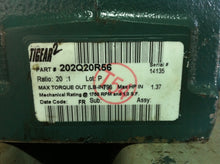 Dodge Tigear2 20:1 Motor Reducer  202Q20R56