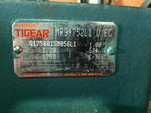 Dodge Tigear 15:1 Motor Reducer MR94752L1