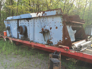 8x20 Conn-Weld Single Deck Incline Screen
