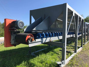 "8'x14' Hopper with 24"" Belt Feeder"