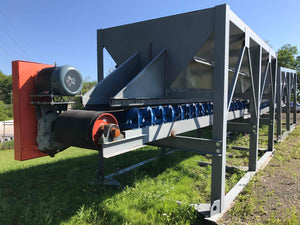 "8'x16' Hopper with 24"" Belt Feeder"