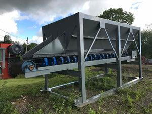 "8'x16' Hopper with 36"" Belt Feeder"