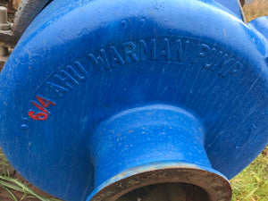 Warman 6x4 slurry pump