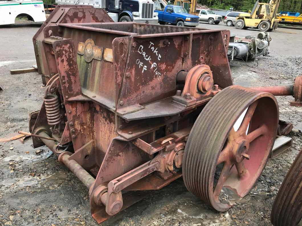 McLanahan 18x48 Triple Roll Crusher