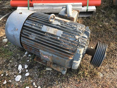 Toshiba 125hp Electric Motor Mine Duty