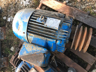 Toshiba, 25 HP, Electric Motor