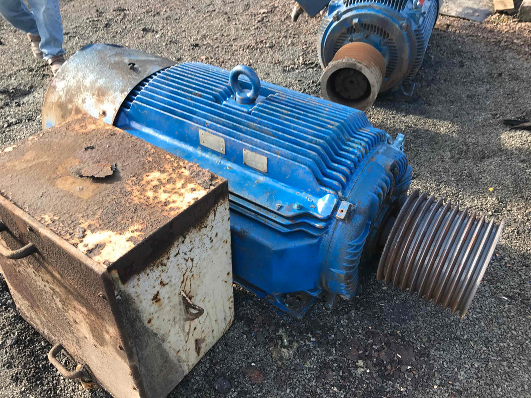 Toshiba, 400 HP, Electric Motor