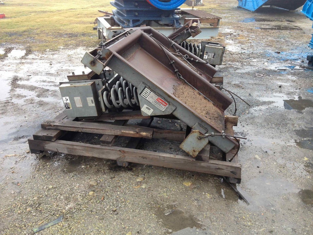 carrier 36x48 vibratory feeder