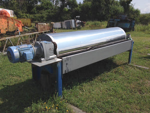 "Stearns 30""x120"" Wet Drum Magnetic Separator"