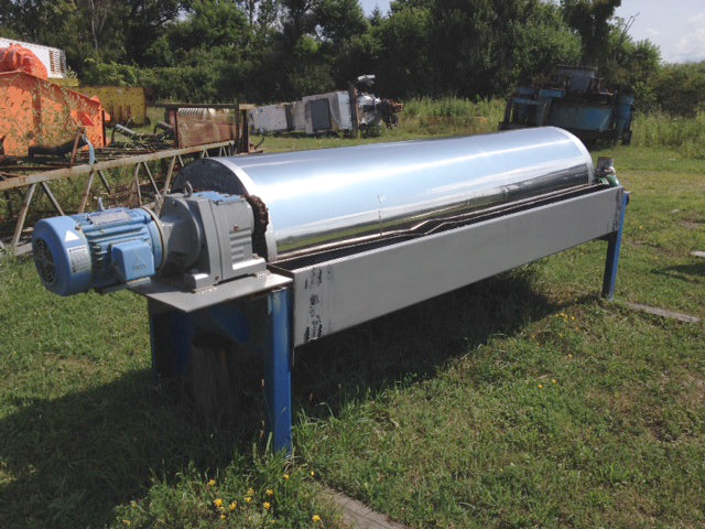 Stearns, 30x120, Wet Drum Magnetic Separator