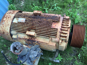 GE, 230 HP, Severe Duty, Electric Motor