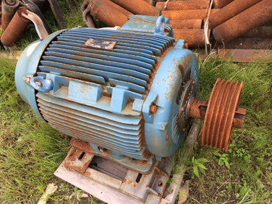 WEG 125hp Inverter Duty Electric Motor