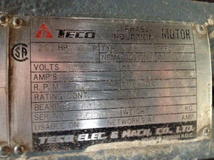 TECO 200hp Electric Motor