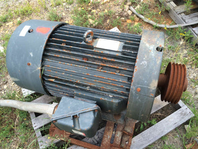 Toshiba, 100 HP, Inverter Duty, Electric Motor