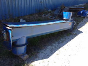 Used, screw conveyor, Iron city supply