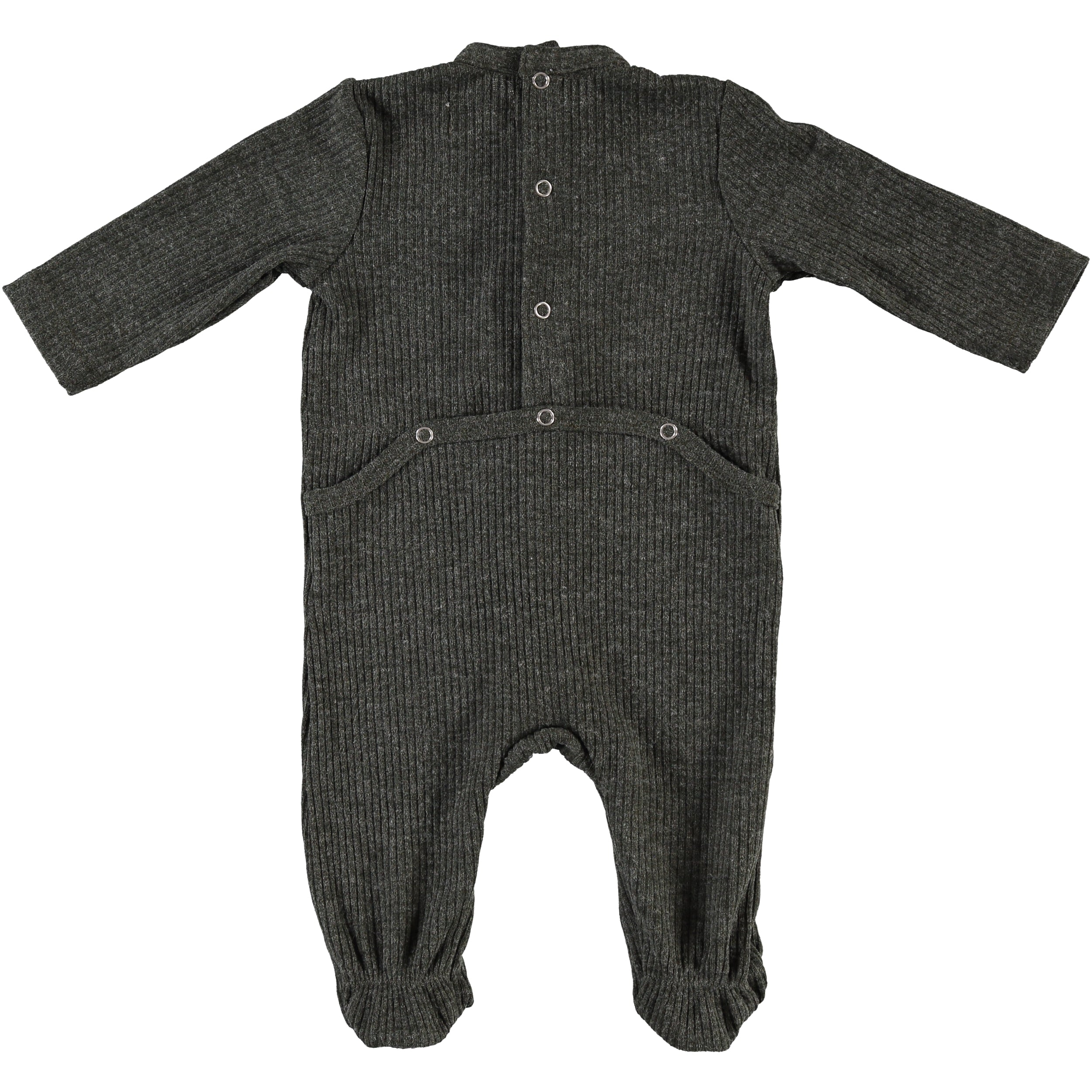 Body Fitted Baby Footsie - Army Green - PiccinoPiccina