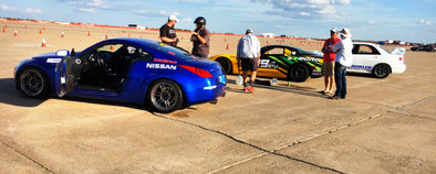The STU vehicle test at the 2017 SCCA Solo Nationals in Lincoln, NE. Performed by Lane Borg of Borg Motorsports, Dave Ogburn, and Bryan Heitkotter.